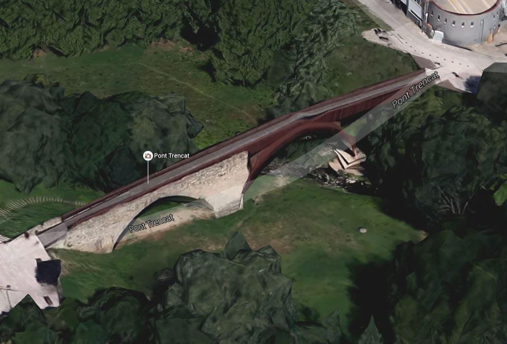 Pont trencat Sant Celoni