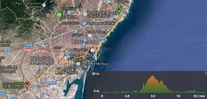 Imatge Mapa ruta ciclista 00-01 Sant Adrià del Besòs a El Prat de Llobregat