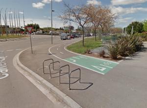 Imatge 7 ruta ciclista 00-01 Sant Adrià del Besòs a El Prat de Llobregat