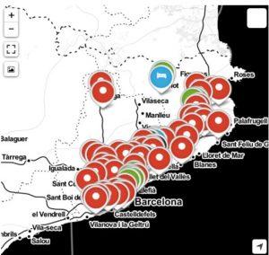 Imatge Exemple punter al mapa de serveis Cyclocat