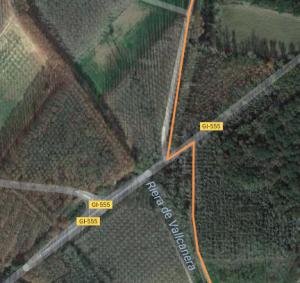 ruta en bici GI-555