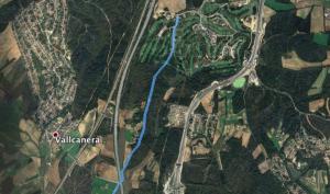 ruta en bici PGA Vallcanera