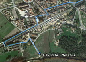 ruta bici Sils