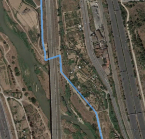 ruta bici llobregat