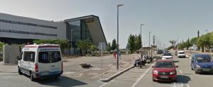 carril bici hospital
