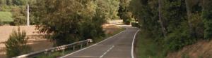 carretera estreta