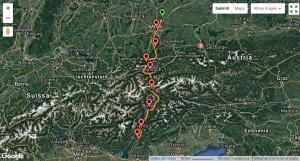 mapa munic verona en bici cyclocat