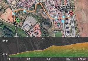 mapa torre romeu