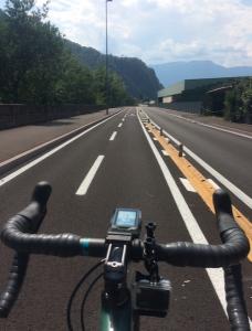 Carril bici a Bolzano