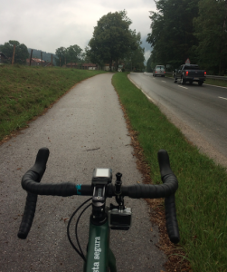 Lenggries carril bici segregat cyclocat