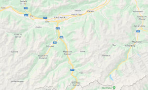 mapa Innsbruck cyclocat