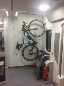 porta bicis en unitats de rodalies