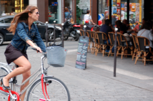 bici amb cistell