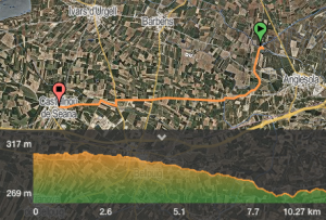 Castellnou seana mapa
