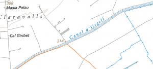 trobem el canal d'Urgell