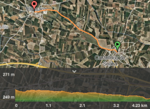 mapa castellnou vila sana